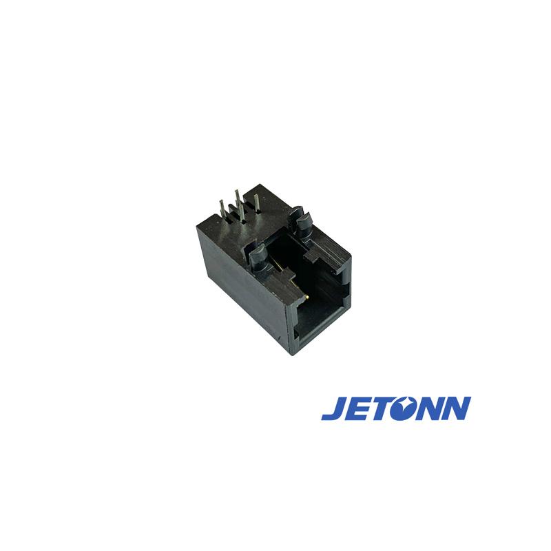 福州8P4C插座廠家_捷通電子_網絡_RJ11電話_RJ9電話