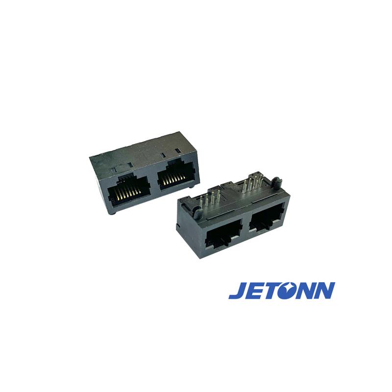溫州SMT接連器品牌_捷通電子_90度RJ11_水晶頭_捷通