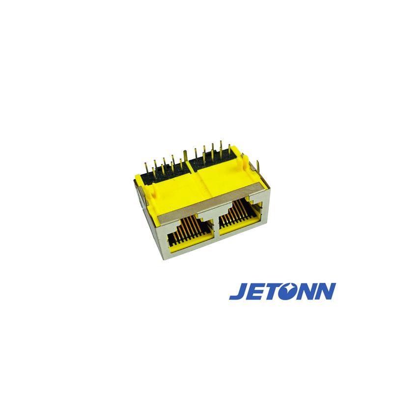 定制_定制RJ45成型插座_捷通電子
