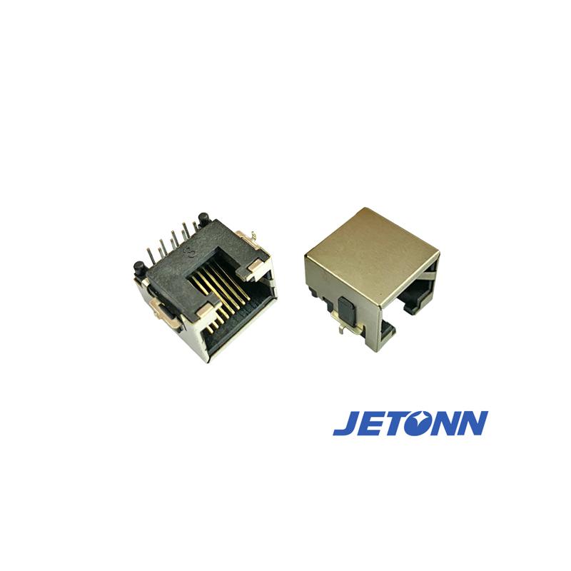 定制_東莞定做RJ45成型插座_捷通電子
