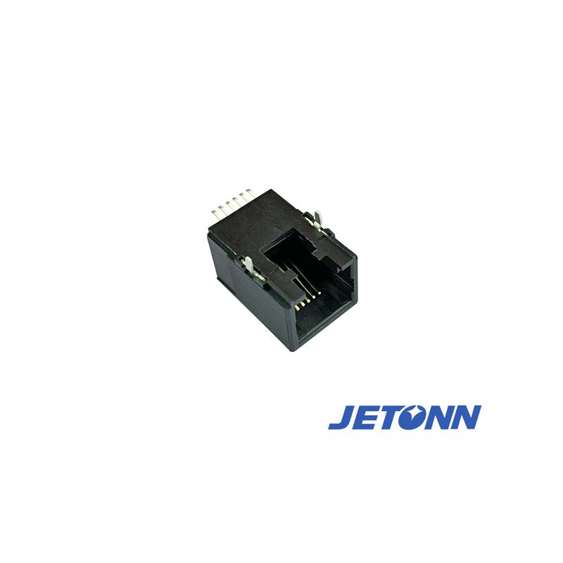 捷通電子_SMT_無錫45度RJ11母座生產