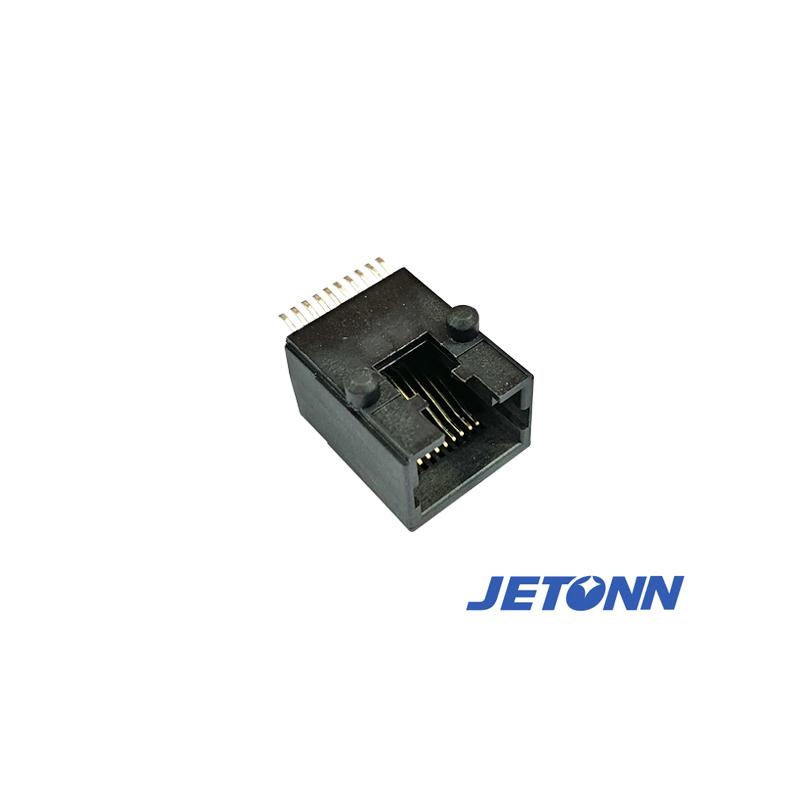 杭州雙層網絡插座插座代工_捷通電子_RJ網絡_RJ45直通