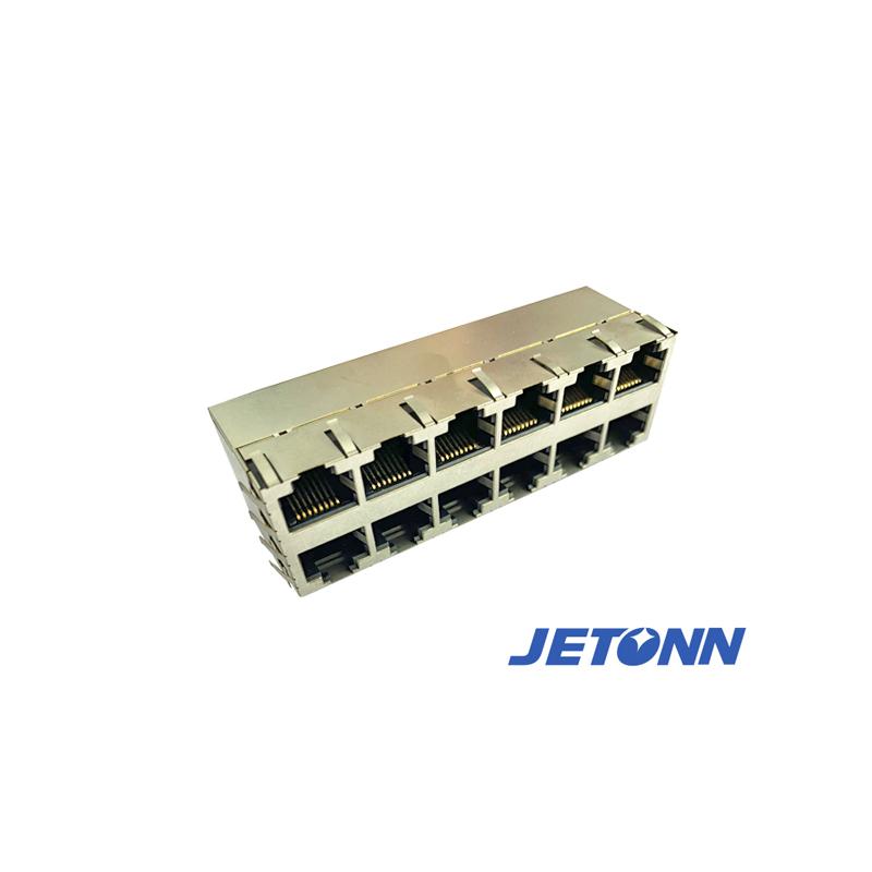 捷通電子_RJ45直通_福州RJ48網絡插座加工