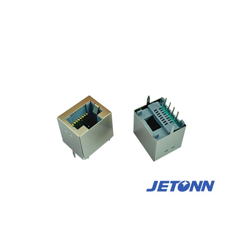 福州90度RJ45插座廠家_捷通電子_防水RJ45網線