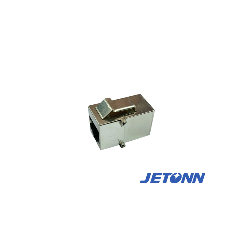 定做_无锡RJ45直通头支架_捷通电子
