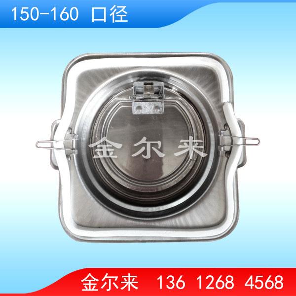 GF8156BX 不锈钢双口径防火阀