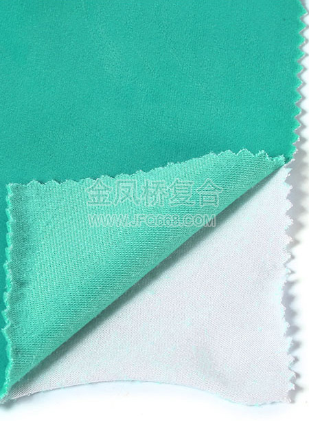天鹅绒复合针织布