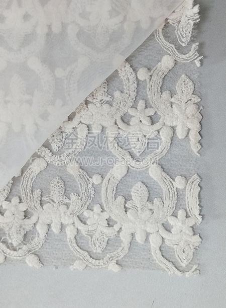 蕾丝复合定型布