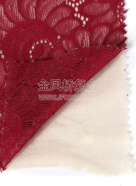 蕾丝复合网纱