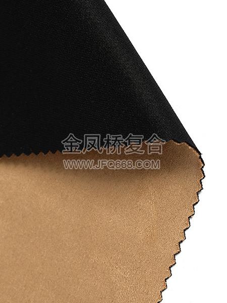 针织布复合仿皮绒