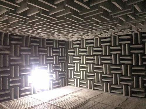 苏州尖劈消声室厂家 静环隔音 环保 吸音棉 双尖 吸声材料 大型