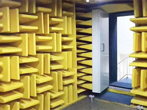 湖州無音消聲室哪里可以定做 靜環隔音 吸音棉 生產廠 平板式