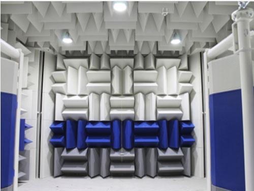 中山一体消声室安装 静环隔音 无音 平板式 一体 频率 双尖