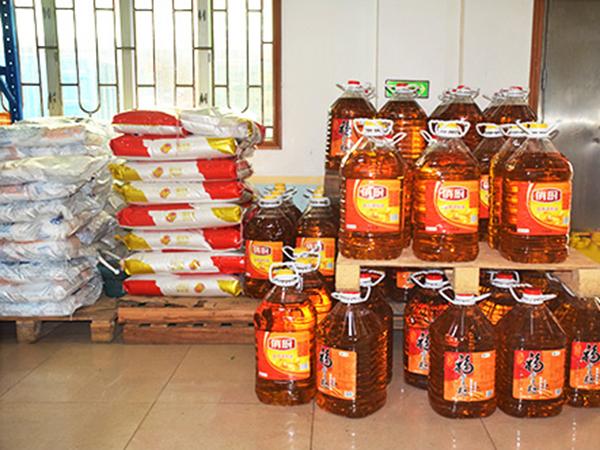 大米農產品配送