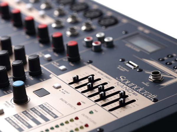 SOUNDCRAFT NANO M16 M24專業型緊湊式模擬調音臺