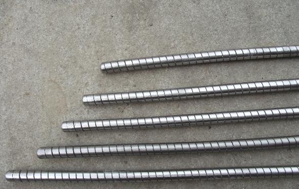 铠装不锈钢穿条  包塑矿用串条出厂价