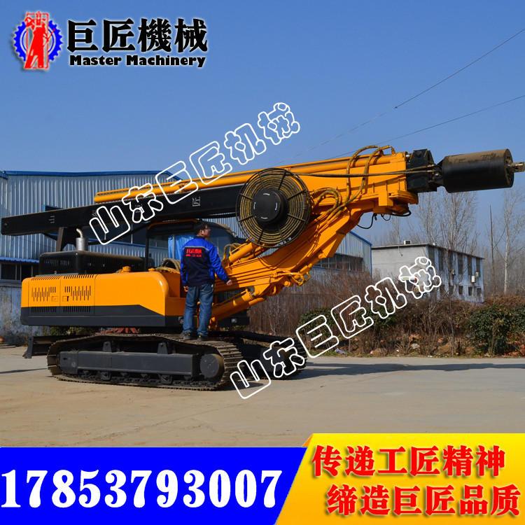 能打22米的履帶方桿旋挖鉆機 強大的扭矩 十足的動力