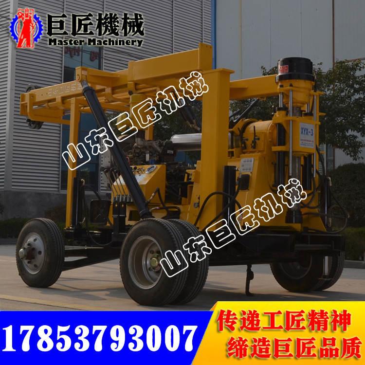 廠家供600米行走液壓巖芯鉆機XYX-3型輪式勘探機質量高