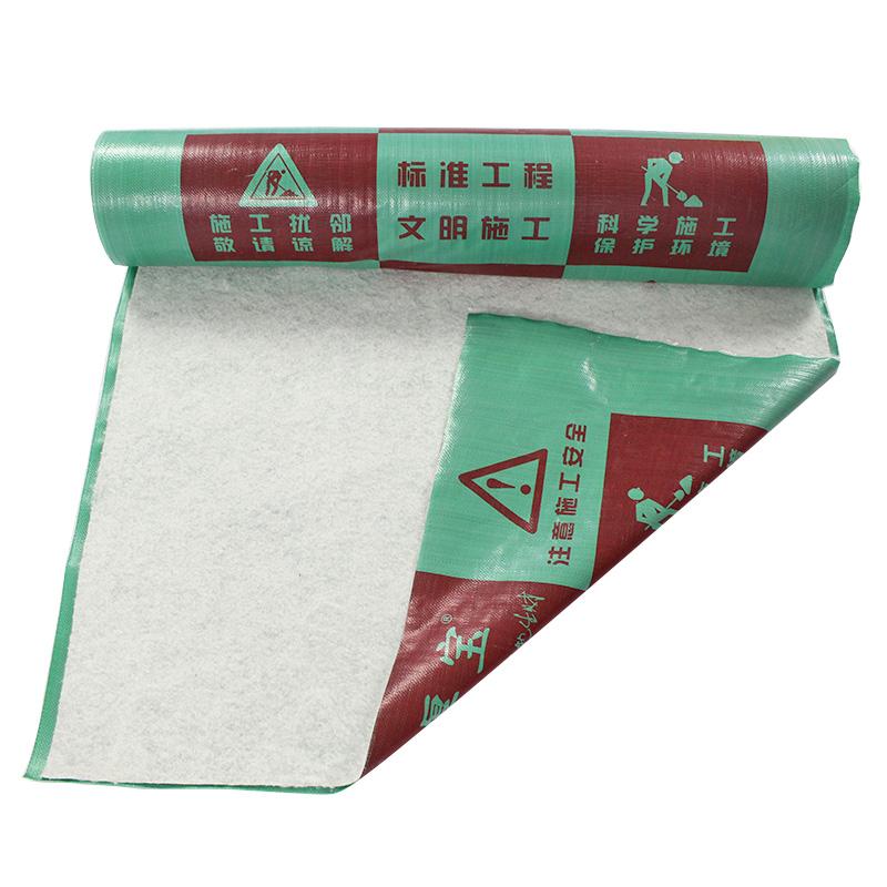 抗压地板保护膜哪里买_巨佳材料_透明PVC_加针织棉_瓷砖