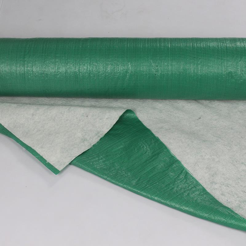 OPP編織布地板保護膜生產廠_巨佳材料_家裝_工地裝修_編織布
