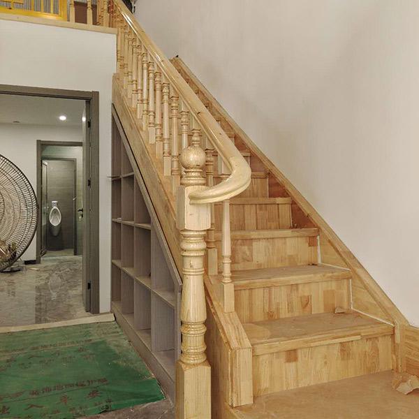 实木楼梯扶手定制