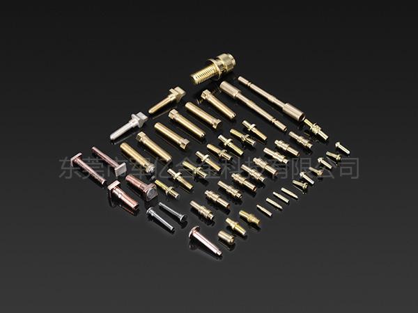 自动焊接铜柱触点