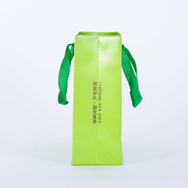 銅版紙質_uv手挽紙袋價格實在_駿越包裝