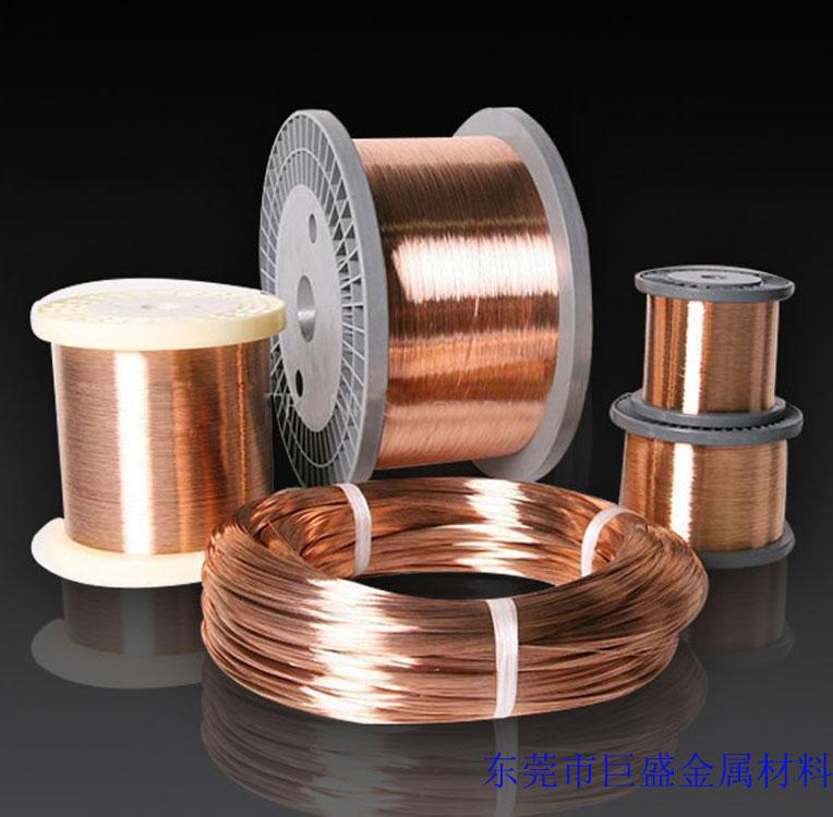 供应QSN6.5-0.1磷铜线,天线弹簧用磷铜线