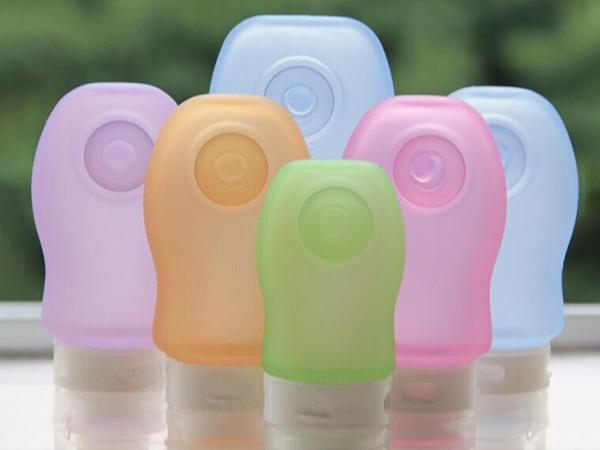 彩色硅胶分装瓶