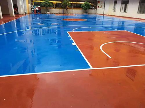 球场跑道地坪