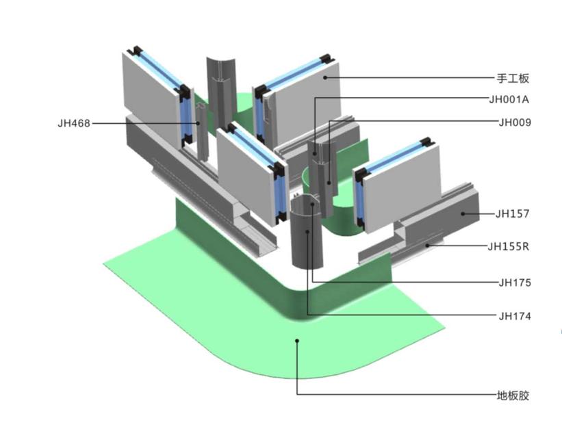 機制_標準潔凈鋁型材定制_康洛斯門窗科技