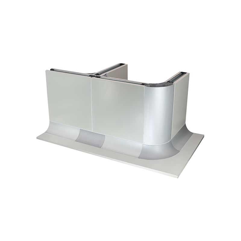 門窗潔凈鋁型材銷售_康洛斯門窗科技_防護門_l型_雙層_手術門