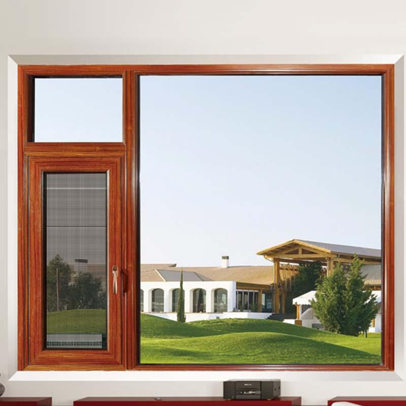 鋁合金平開窗加盟_康洛斯門窗_125系列斷橋系列_左右_滑撐