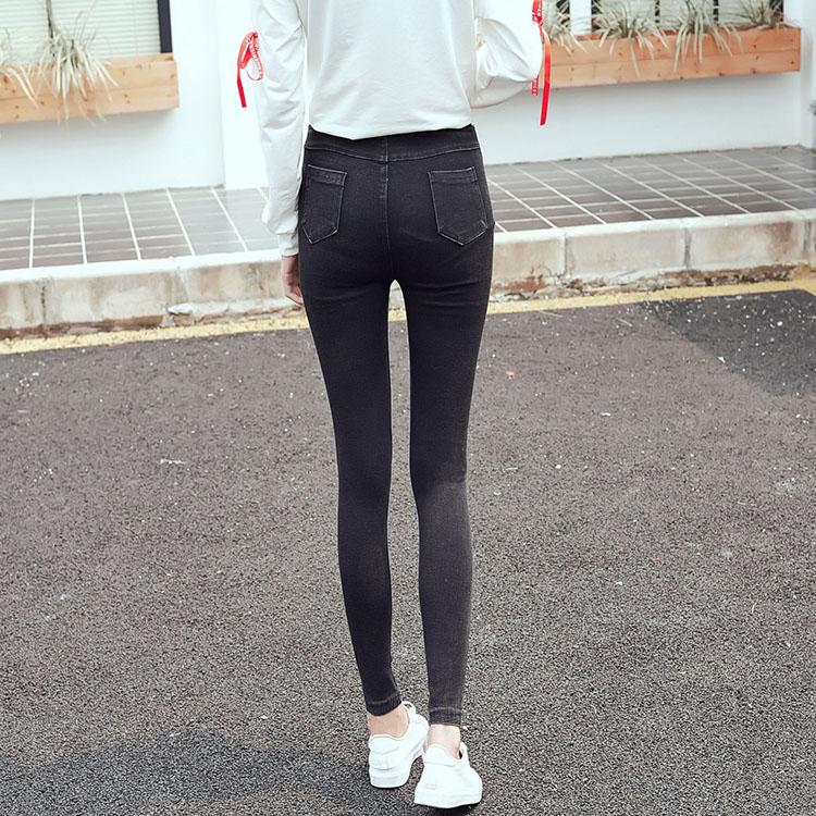 铅笔女士长裤