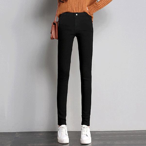 时尚百搭小脚裤