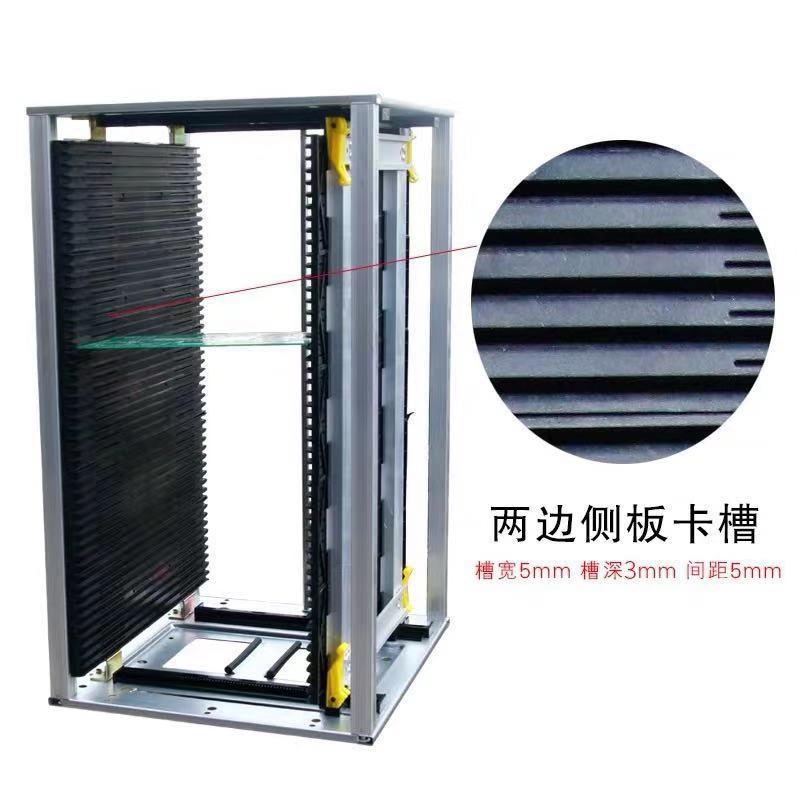 黑色防靜電SMT上板架哪有_科元防靜電_周轉_加固_鐵面_存放