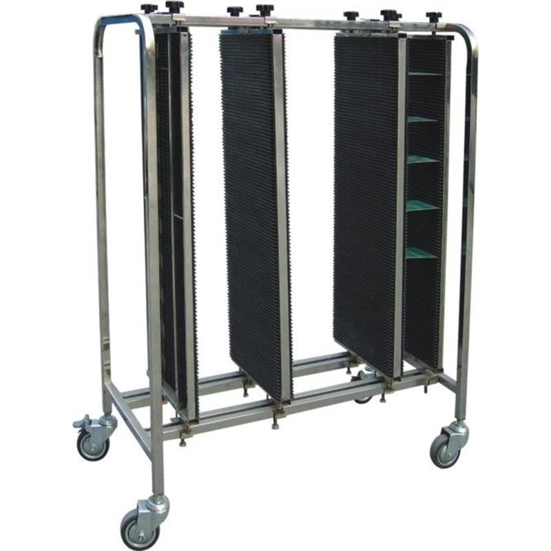 塑膠防靜電PCB翻板車銷售_科元防靜電_塑膠_承載量大_車間專用