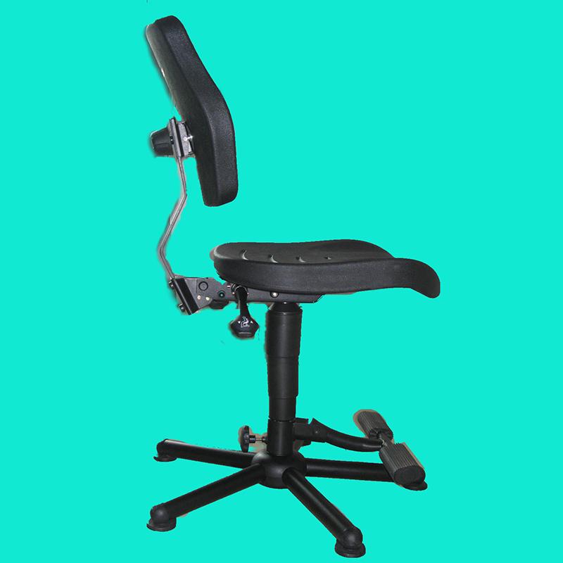 科元防靜電_實驗室專用椅子防靜電椅子OEM代工_加固_皮革靠背