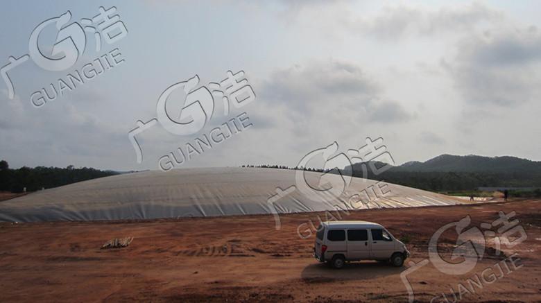 江门广洁环保技术开发有限公司供应 黑膜沼气池、盖泻湖沼气池设备