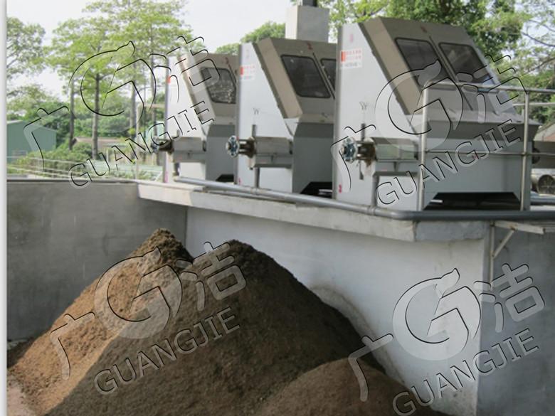 江門廣潔環保技術開發有限公司供應 臺灣煉盛牌固液分離機環保設備