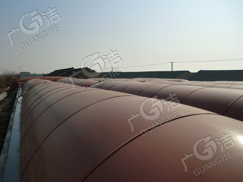 江門廣潔環保技術開發有限公司供應 紅泥塑料沼氣池