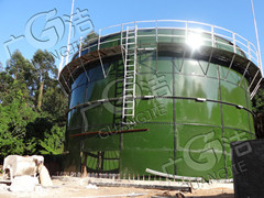 江門廣潔環保技術開發有限公司供應 搪瓷拼裝罐沼氣池設備