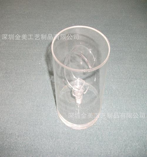 订做圆柱圆形亚克力展示柜 手表展示柜精品展示架c圈手表展示道具