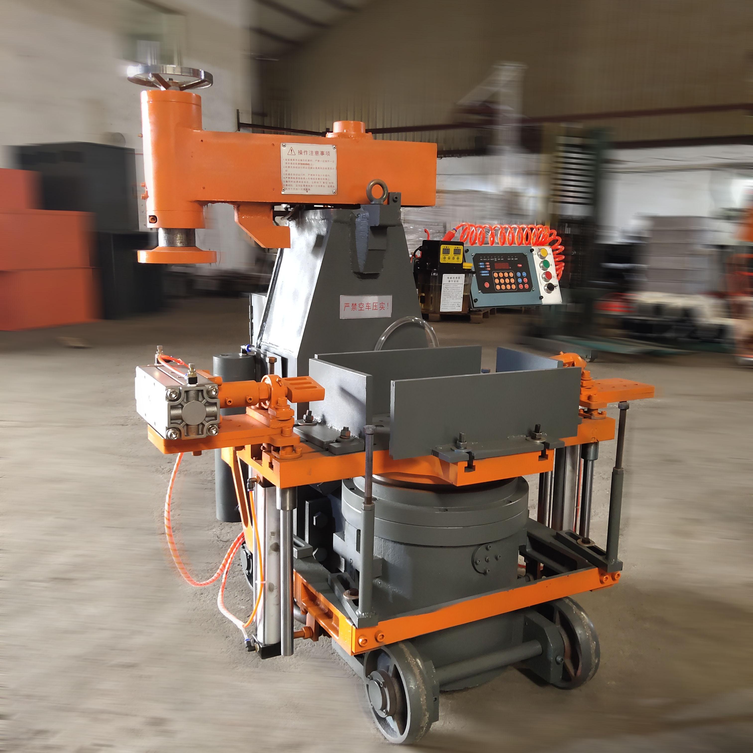 自动翻板造型机