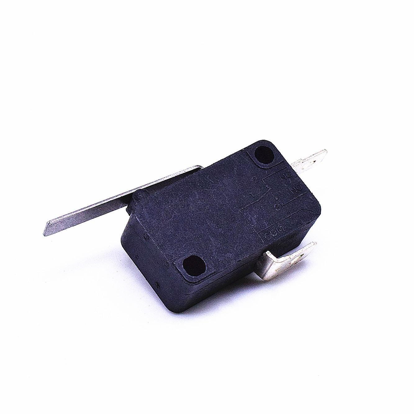 KW3-163-1A2(常開型4.8H插片)-B(殼體全黑 )-G(黑色按柄)