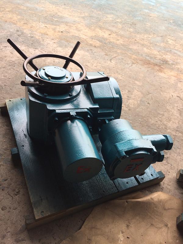 DZW10-18B多回轉防爆型電動執行器