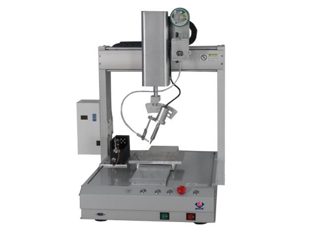 机械设计焊锡机技术_鲁工自动化_电子半导体_破壁机_龙门结构