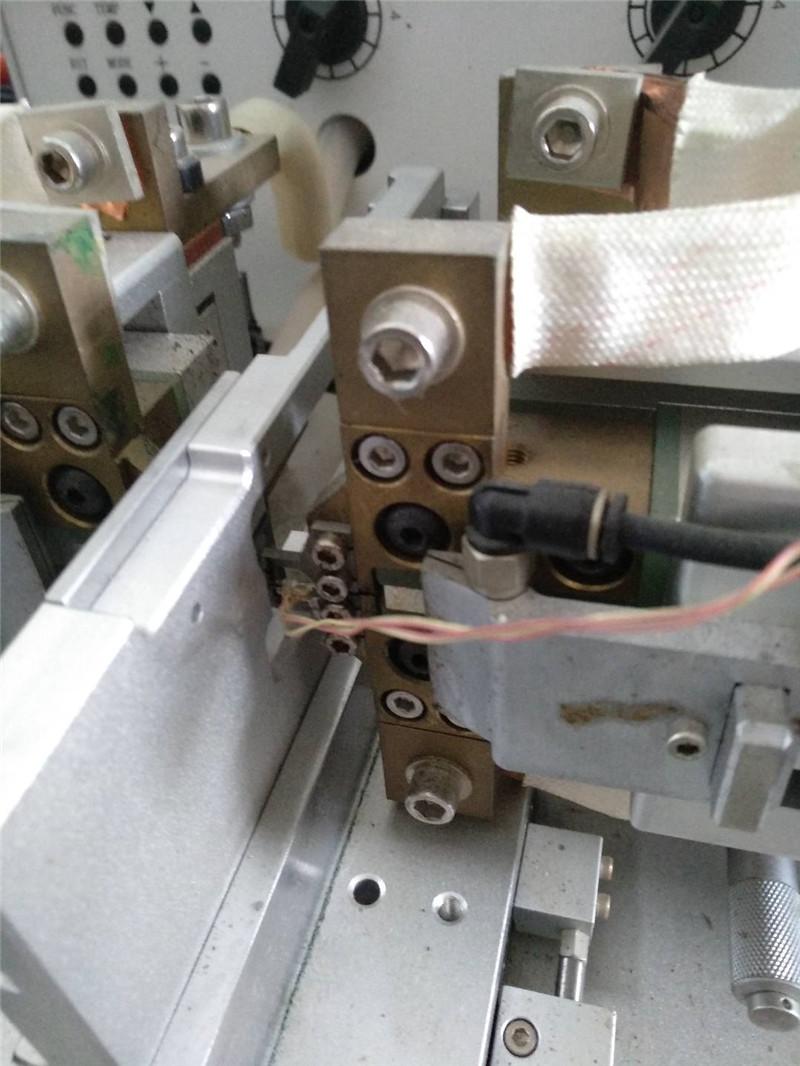 机械设计焊线机技术_鲁工自动化_替代人工_全自动_数据线