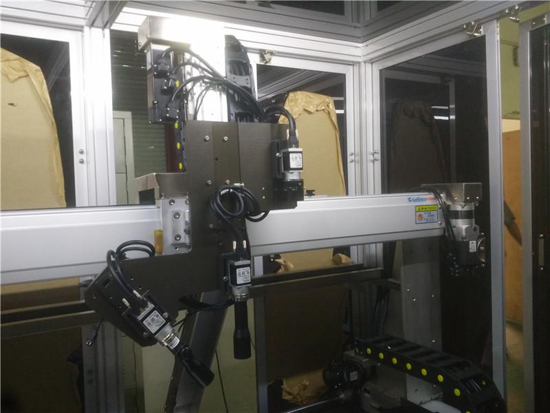 全自动检测机改善_鲁工自动化_理发剪_尺寸_导通_光学_电子烟