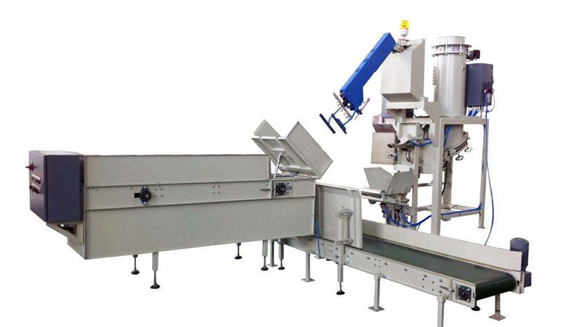 汽车零部件包装机方案_鲁工自动化_全自动_替代人工_机械设计
